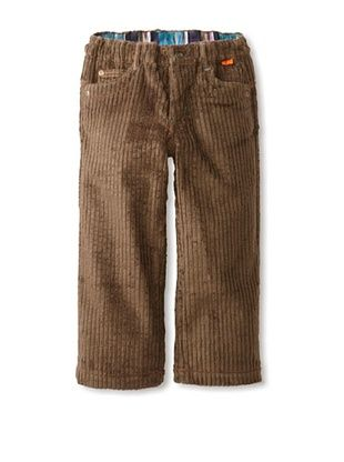 66% OFF Kartoons Kid's Extra Wide Cord Pant (Olive)