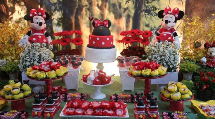 Minnie Vermelha na Pintereście  Aniversario Minnie, Minnie Vermelha