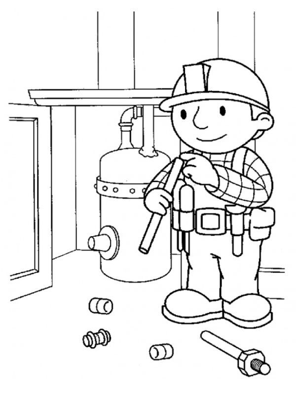 Printable Bob The Builder Coloring Pages For Kids Free Coloring Sheets Coloring Books Cartoon Coloring Pages Coloring Pages