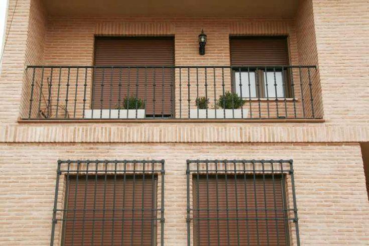 Barandillas de balcon forja miguel artesania del hierro 2 - Baranda de forja ...