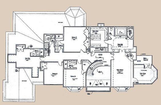 214 Best Images About Floor Plans On Pinterest