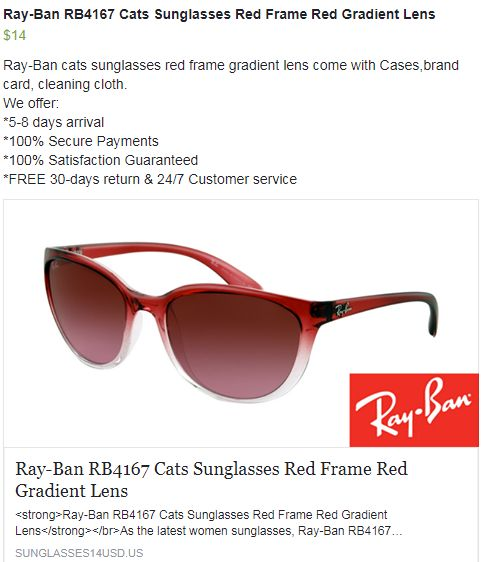 Looking for Ray-Ban cats sunglasses  Shop at http   www. Lunettes De Soleil  ChatRay Ban 3af75d88761c