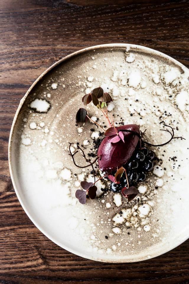 Studio food photography, The Standard @ Copenhagen. Love the minimal, balanced composition.