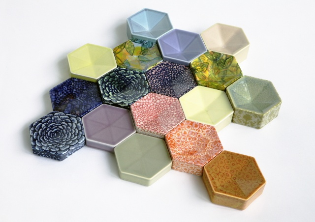 Ceramics by Finnish designer Heini Riitahuhta