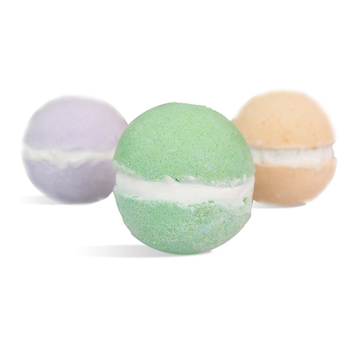 Move over cupcakes, these macarons are your new eye candy! In this recipe you will learn how to make macaron bath bombs that will make your customers take a second look. We used three different fragrances to match the colors: Pistachio & Magnolia for the green, Dahlia & Lychee for the purple and Calla Lily and Grapefruit for the orange. Jojoba Butter was also used in this decadent treat for your skin.