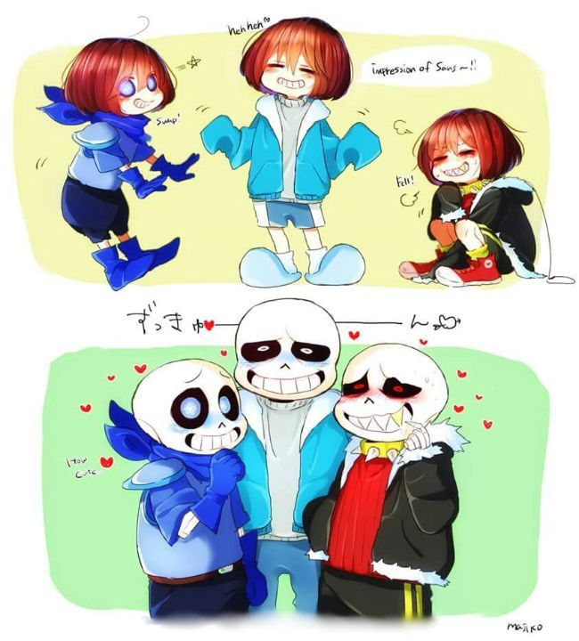 Read pack 2 from the story El paraíso del Frans by Kiiri-me (Kiirime) with 1,431 reads. undertale, frisk, frans.