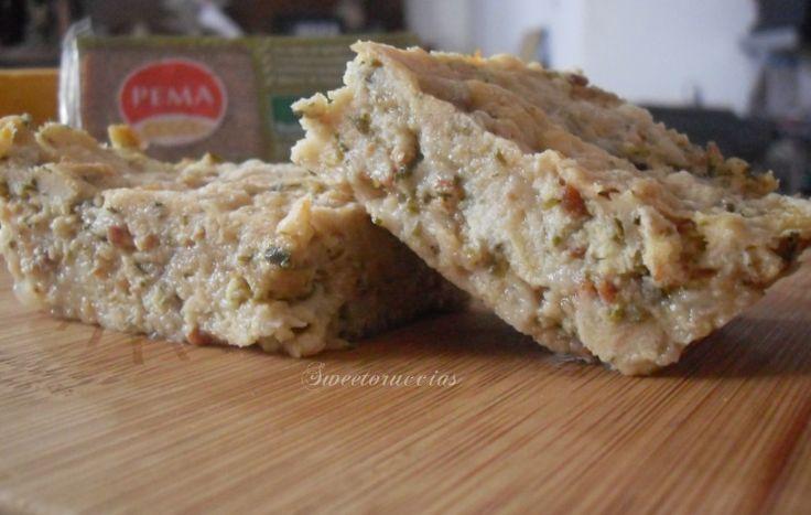 Torta di pane di farro allo speck