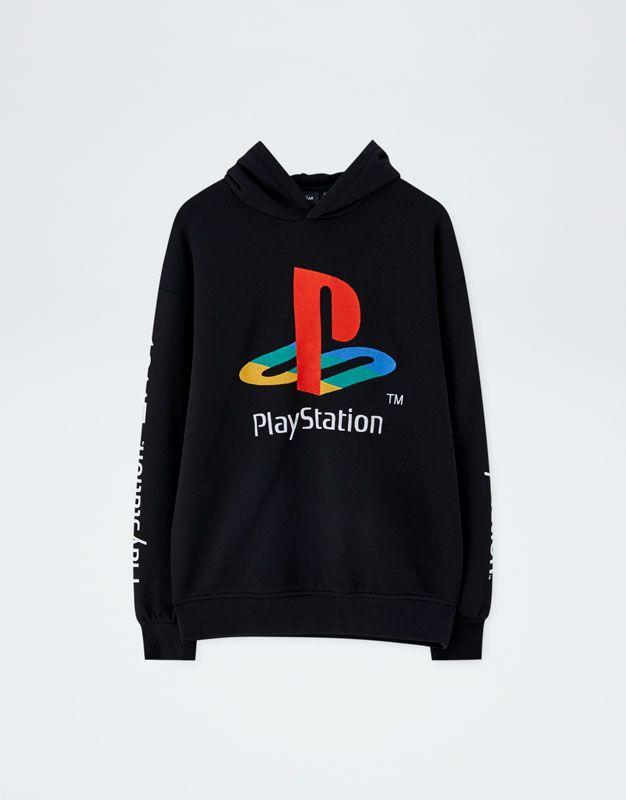 Embroidered Playstation Hoodie Pull Bear Sweater Hoodie Hoodie Design Hoodies
