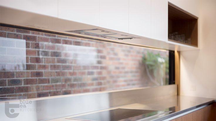 manly kitchen window splash back