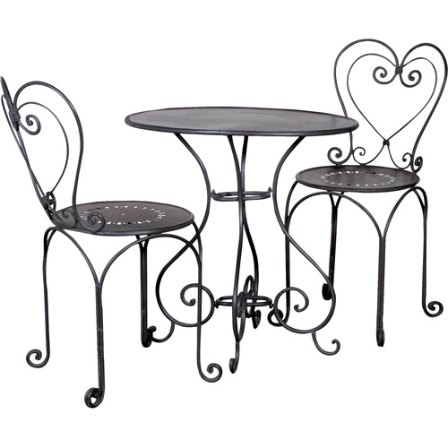 Cute cafe bistro set for the home  sc 1 st  Pinterest & 31 best Pretty Bistro Sets images on Pinterest | Bistro set Outdoor ...