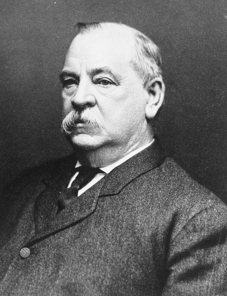 Grover Cleveland - Honorary Sigma Chi brother at University of ...