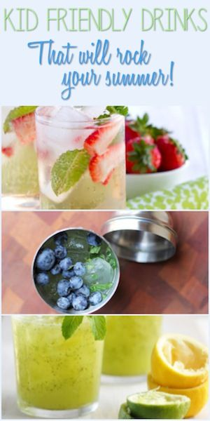 Kid Friendly Drinks That Will Rock Your Summer #BHGSummer