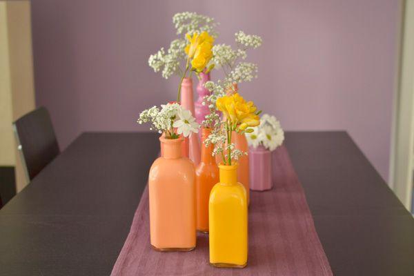 DIY | Flessen en Vazen schilderen – Stijlvol Styling - WoonblogStijlvol Styling – Woonblog