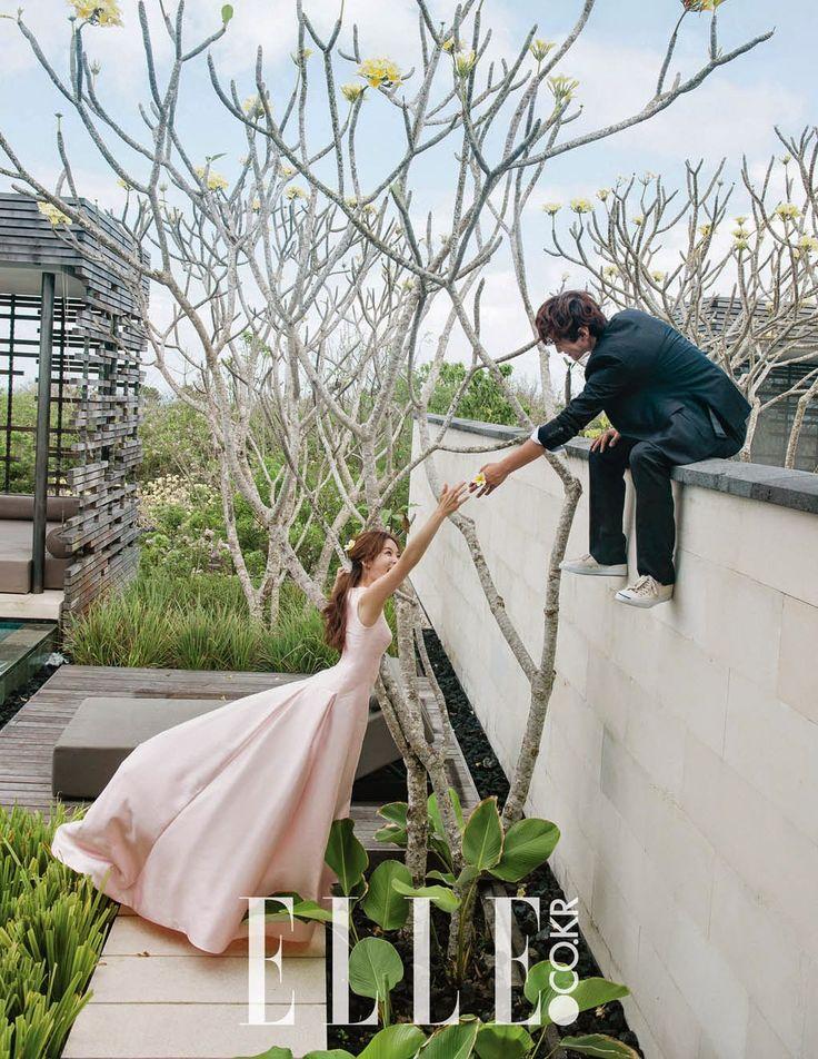 Chae Rim and Gao Zi Qi release their wedding pictorials - Latest K-pop News - K-pop News | Daily K Pop News