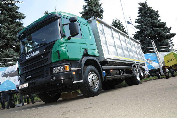 Scania показывает в Киеве грузовики Off-road