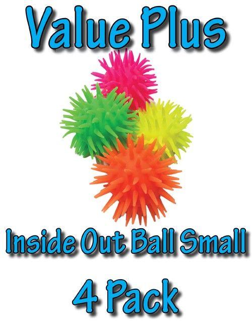SensoryTools.net Australia - Inside Out Ball - Small - Value Plus (4 Pack)