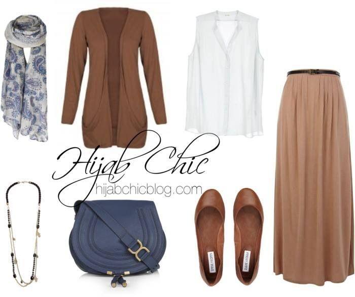 Hijab Fashion 2016/2017: #hijab chic #hijab outfit  Hijab Fashion 2016/2017: Sélection de looks tendances spécial voilées Look Descreption #hijab chic #hijab outfit