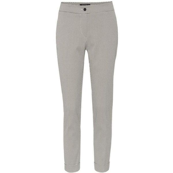 Etro Cotton-Blend Trousers (€260) ❤ liked on Polyvore featuring pants, bottoms, black, straight, trousers, cotton blend pants, etro, etro pants and straight pants