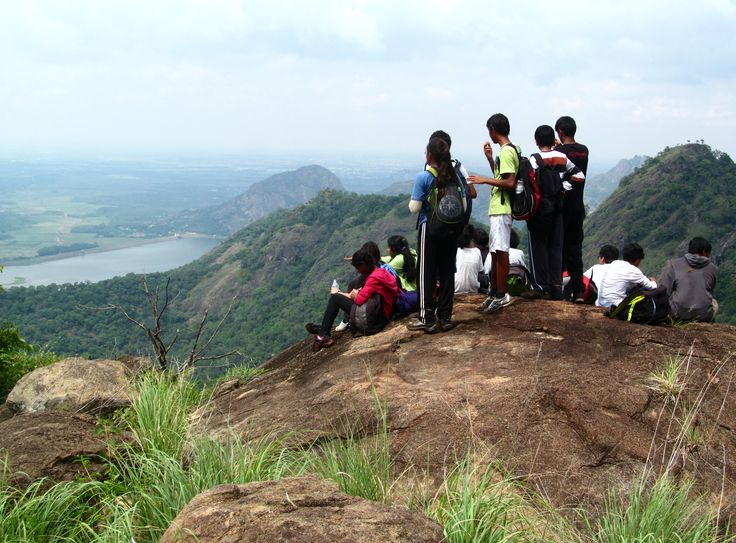 Palangi to Palani Hike....Tamil Nadu, South India...view near the end of the hike.