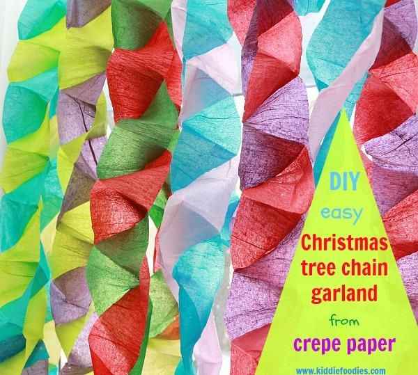214 best diy paper garland images on pinterest paper for Decor using crepe paper