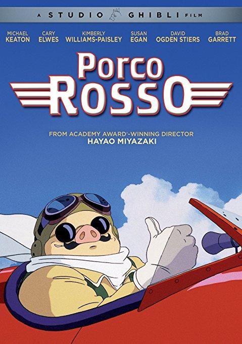 Michael Keaton & Susan Egan & Hayao Miyazaki-Porco Rosso