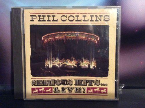 Phil Collins Serious Hits Live! CD Album PCCD1 1990 Pop Music:CDs