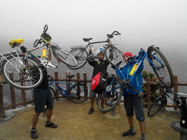volcano mountain cycling