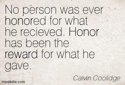 Inspirational Quotes of national honor society  | Quotes About Honor and Pride