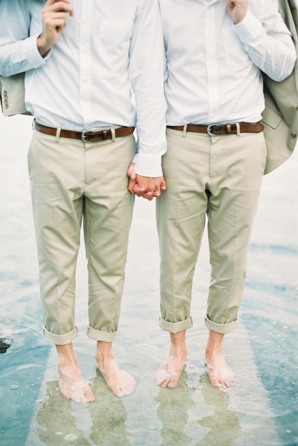 These handsome gents: http://www.stylemepretty.com/destination-weddings/2015/07/28/intimate-beachfront-gay-wedding-in-phuket-thailand/ | Photography: Mildly the Film - http://www.mildlythefilm.com/
