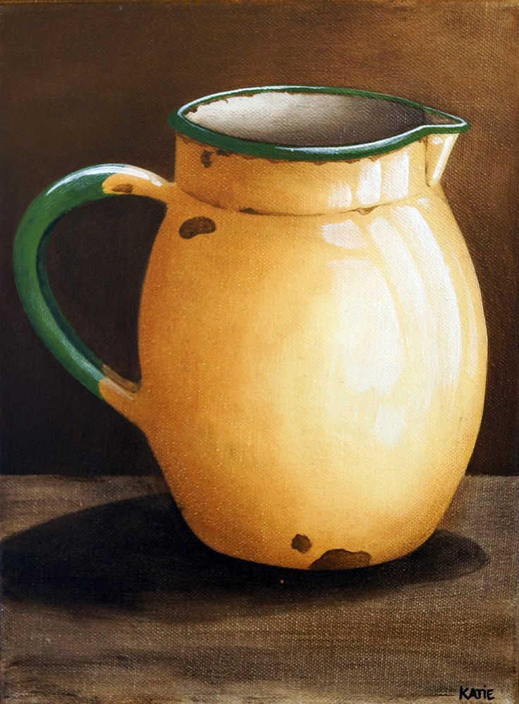 Jug - Yellow (300 x 225) by Katie - R495.00