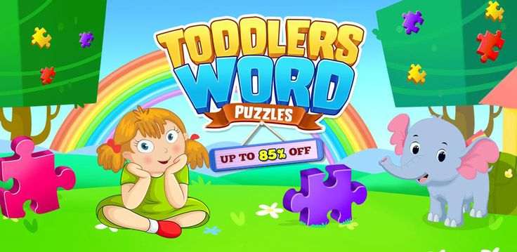 #BuySourceCode Toddlers Word #Puzzles #Game is already published on #PlayStore still you have any other ideas for #learning then start customizing this #Sourcecode & build your own game.