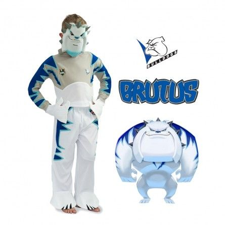 BRUTUS Kids NRL Bulldogs Mascot Costume