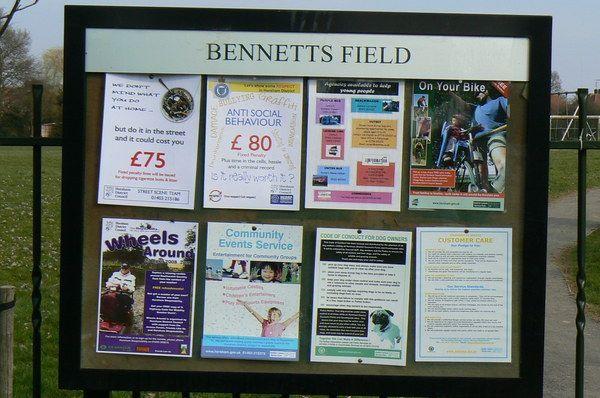 Bennetts Field, Horsham Baptists FC