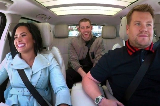 The latest installment of Car Karaoke features Nick Jonas purity ring jokes and dating life talk.