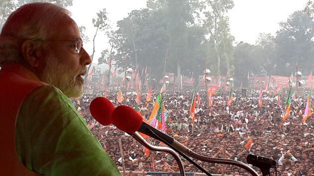 Modi has traveled over 3 lakh kilometers in this campaign