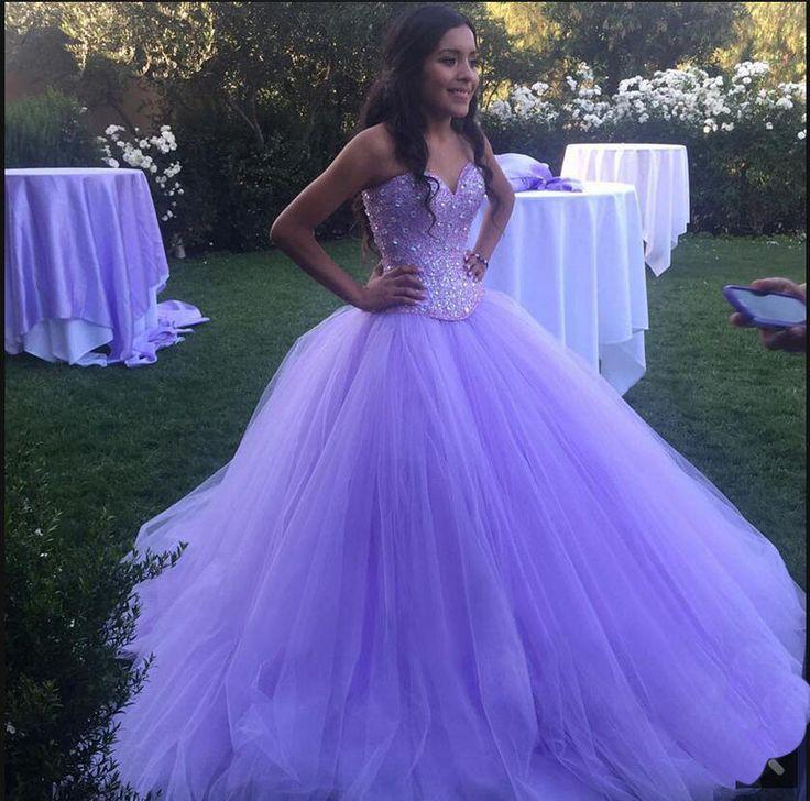 Purple prom dress, sweetheart prom dress, poofy prom dress