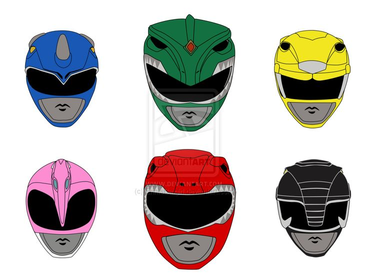power ranger helmet template - Google Search