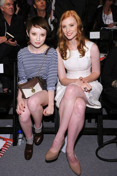 Emily Browning And Deborah Ann Woll Mid Length