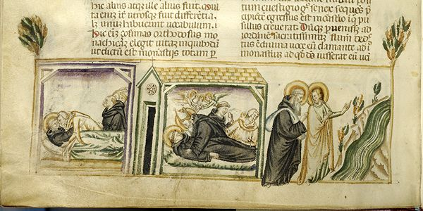 Vitae patrum, MS M.626 fol. 133v - Images from Medieval and Renaissance Manuscripts - The Morgan Library & Museum