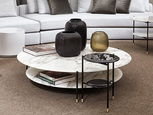 Adrian Round Coffee Table By Meridiani Design Andrea Parisio