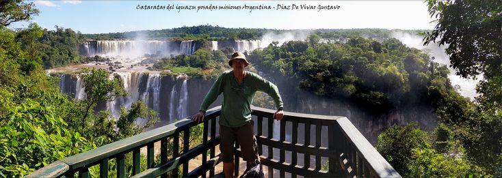 Imagen de Cataratas del Iguazú, Parque Nacional Iguazú: Vista panoramica desde el lado de Brasil