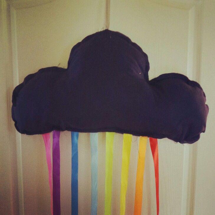 Rainbow cloud. Kidsroom, kidsdecor.