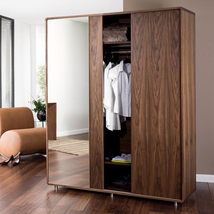 Dwell: Malone Sliding Mirror Wardrobe