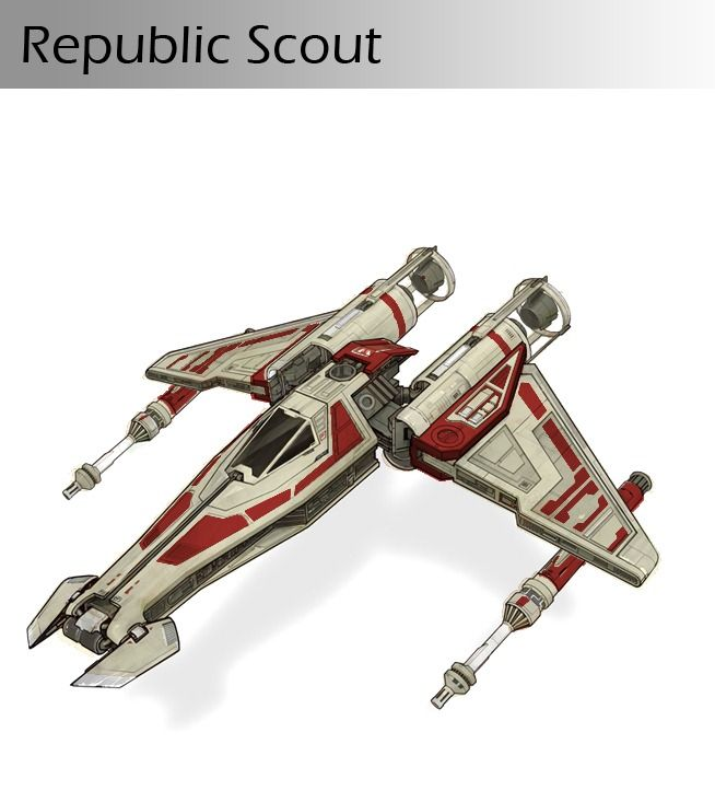 Star Wars. This looks like a hybrid of X-Wing and Clone Wars era drop ship!