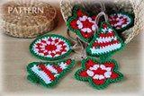 Crochet Christmas Ornaments Pattern