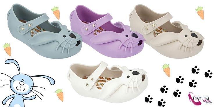 Introducing the Mini Melissa Ultragirl Rabbit from Melissa South Africa, available at Stuttafords! Too cute to be true, this mini style features a bunny face - with the right to long ears, mustache and little bunny tail on the back.   Available at Stuttafords Sandton City Stuttafords Gateway and Stuttafords Menlyn Park!  https://www.facebook.com/MelissaSouthAfrica