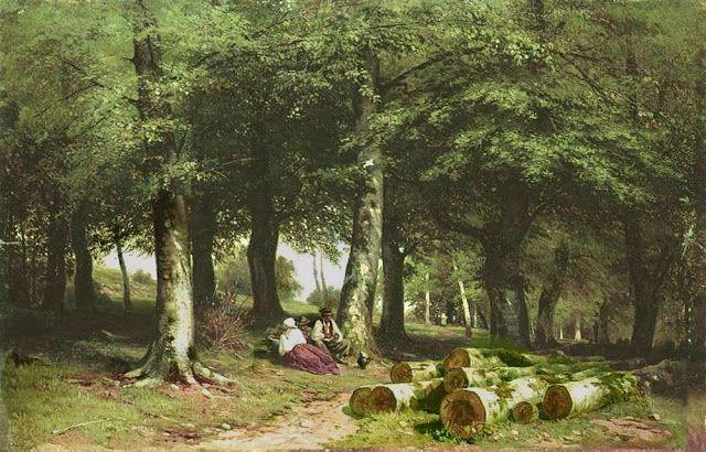 Στο Αλσος. (1869)