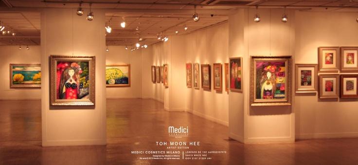 "www.medici.so Medici Cosmetics Milano ""Artist Collection"" Toh Moon Hee Exhibition"