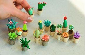 Painel de cactos Cactos são plantinhas fáceis de se cultivar e ter em casa, ideal para que não tem muito tempo ou técnicas com esse espinhoso que hoje decora e diverte looks