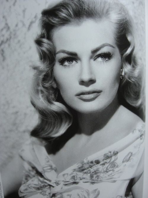 Anita Ekberg. Born 1931 - Died Sunday 11th January 2015.